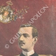 DETAILS 03 | Portrait of Prince Emanuele Filiberto and Hélène of Orléans, his fiancee - 1895