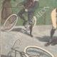 DÉTAILS 02 | Un cycliste grièvement blessé sur la piste Trotter de Milan (Italie)