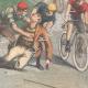 DÉTAILS 04 | Un cycliste grièvement blessé sur la piste Trotter de Milan (Italie)