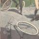 DÉTAILS 05 | Un cycliste grièvement blessé sur la piste Trotter de Milan (Italie)