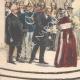 DÉTAILS 02 | L'impératrice d'Autriche rend visite aux souverains italiens au Palais Royal de Venise - 1895