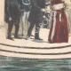 DÉTAILS 05 | L'impératrice d'Autriche rend visite aux souverains italiens au Palais Royal de Venise - 1895