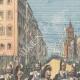 DÉTAILS 01   Anniversaire du 2 Juin - La Reine de retour de la revue militaire à Rome - 1895
