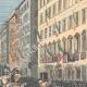 DÉTAILS 03   Anniversaire du 2 Juin - La Reine de retour de la revue militaire à Rome - 1895