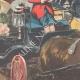 DÉTAILS 06   Anniversaire du 2 Juin - La Reine de retour de la revue militaire à Rome - 1895