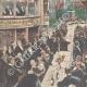 DÉTAILS 02   Banquet en l'honneur de Francesco Crispi au théâtre Argentina de Rome - 1895
