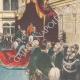 DÉTAILS 04 | Inauguration de la XIXe législature à Montecitorio - Discours du roi - Italie - 1895