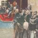 DÉTAILS 06 | Inauguration de la XIXe législature à Montecitorio - Discours du roi - Italie - 1895