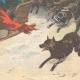 DETAILS 06   Cruel parents - Children thrown to wolves in Russia - 1895