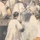 DÉTAILS 02   Mariage du duc d'Aoste avec la princesse Hélène d'Orléans - Angleterre - 1895
