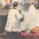 DÉTAILS 05   Mariage du duc d'Aoste avec la princesse Hélène d'Orléans - Angleterre - 1895