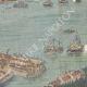 DÉTAILS 05   Revue navale dans le port de Kiel - Inauguration du Canal - Allemagne - 1895