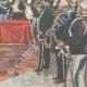 DÉTAILS 04 | Duc et Duchesse d'Aoste à Rome - Acte de mariage au Palais du Quirinal - Rome - 1895