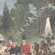 DETAILS 02 | Duke and Duchess of Aosta in Villa Borghese - Rome - 1895