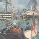 DÉTAILS 04 | Duc de Gênes et Duc d'York visitent l'ancien navire de Nelson à Portsmouth - Angleterre - 1895