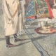 DETAILS 02 | Events in Africa - Menelik II judges the engineer Capucci - Ethiopia - 1895