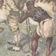 DETAILS 04 | Events in Africa - Menelik II judges the engineer Capucci - Ethiopia - 1895