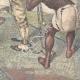 DETAILS 06 | Events in Africa - Menelik II judges the engineer Capucci - Ethiopia - 1895