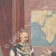 DÉTAILS 01 | Le général Baratieri reçu par le roi au Palais du Quirinal - Rome - Italie - 1895