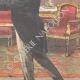 DÉTAILS 04 | Le général Baratieri reçu par le roi au Palais du Quirinal - Rome - Italie - 1895