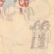 DETAILS 08 | Drawing - Italo-Ethiopian War - General Baratieri on the way to Adigrat - 1895