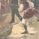 DETAILS 06   Brigandage in Sardinia - Attack of a postal car in Orani - Italy