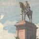 DETAILS 02 | Equestrian Statue of Garibaldi in Janiculum - Emilio Gallori, sculptor - Rome - Italy