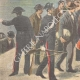 DETAILS 05   Arrival of a group of convicts in Palermo after the amnesty - Sicily - Italy - 1895