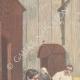 DÉTAILS 01 | Tentative d'assassinat dans l'église San Nicola de Cesarini à Rome - Italie - 1895