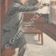 DÉTAILS 02 | Tentative d'assassinat dans l'église San Nicola de Cesarini à Rome - Italie - 1895