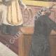 DÉTAILS 04 | Tentative d'assassinat dans l'église San Nicola de Cesarini à Rome - Italie - 1895