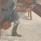 DÉTAILS 05 | Tentative d'assassinat dans l'église San Nicola de Cesarini à Rome - Italie - 1895