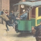 DETAILS 02   Strange accident of the electric tram of Genoa - Italy - 1895