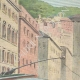 DETAILS 03   Strange accident of the electric tram of Genoa - Italy - 1895