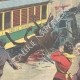 DETAILS 04   Strange accident of the electric tram of Genoa - Italy - 1895