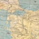 DETAILS 01   Map of Armenia and surrounding areas - XIXth Century