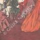 DÉTAILS 05   Le Consistoire papal - Le Pape remet le chapeau au nouveau cardinal - Vatican - Italie - 1895