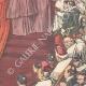 DÉTAILS 06   Le Consistoire papal - Le Pape remet le chapeau au nouveau cardinal - Vatican - Italie - 1895