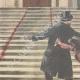 DÉTAILS 02 | Assassinat du Commendatore Le Pera - Palazzo Braschi à Rome - Italie - 1895