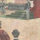 DETAILS 04 | Presentation of the banner to the Cavalry Regiment of Catania - Caserma Macao in Rome - 1897