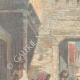 DÉTAILS 01 | La famine - Scène dans une rue de Calcutta - Inde - XIXème Siècle