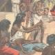 DÉTAILS 02 | La famine - Scène dans une rue de Calcutta - Inde - XIXème Siècle