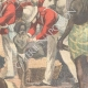 DÉTAILS 04 | La famine - Scène dans une rue de Calcutta - Inde - XIXème Siècle