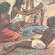 DÉTAILS 05 | La famine - Scène dans une rue de Calcutta - Inde - XIXème Siècle