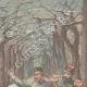 DÉTAILS 03 | Une sentinelle tue un jardinier du Tsar, le croyant nihiliste - Krasnoe Selo - Russie - 1897