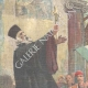 DETAILS 01 | Insurgency in Candia - Blessing of Greek soldiers and flag - Platanias - Crète - 1897