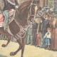DÉTAILS 04 | Le Roi de retour de la revue militaire del Macao - Rome - 1897
