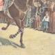 DÉTAILS 06 | Le Roi de retour de la revue militaire del Macao - Rome - 1897