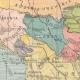 DÉTAILS 01   Carte de la Péninsule Balkanique - 1897