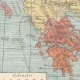 DÉTAILS 02   Carte de la Péninsule Balkanique - 1897